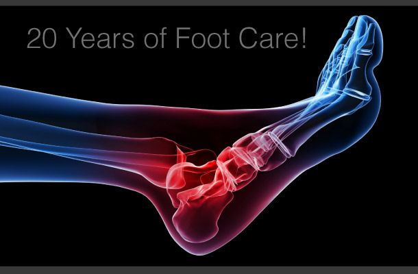 20 Years of Foot Care! Foot Joint Pain